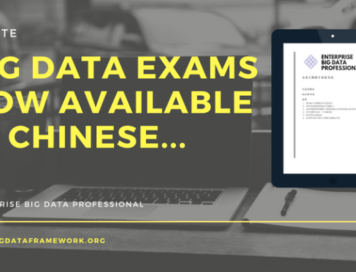 Enterprise Big Data Professional Chinese Exams Now Available